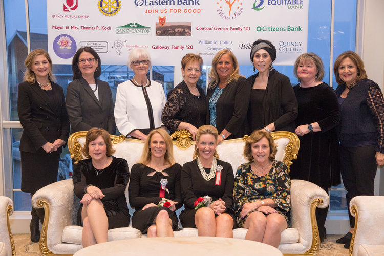 Women of Distriction Photo:   Standing left to right: Kathryn Murphy, Beth Ann Strollo, Judy Farmer, Michelle Stenberg, Terry Bellotti-Palmieri, Chazy Dowaliby, Maryann Peak, Josephine Shea  Seated left to right: Wendy Simmons, Kristine Lilly, Laurie Graf, Dolly Di Pesa
